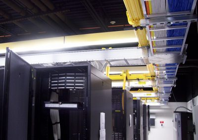 Cabling raceway for 4,000 sf center